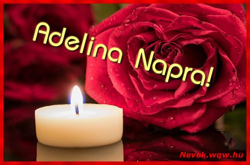 Adelina képeslap