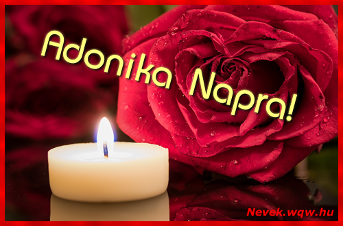 Adonika képeslap