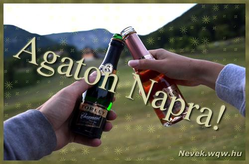 Agaton képeslap
