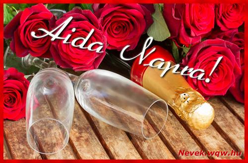 Aida üdvözlőlap