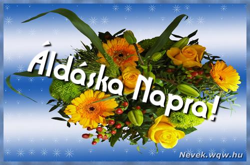Áldáska névnapi képeslap