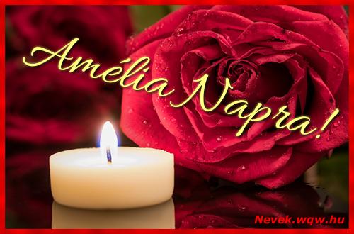 Amélia képeslap