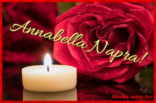 Annabella képeslap