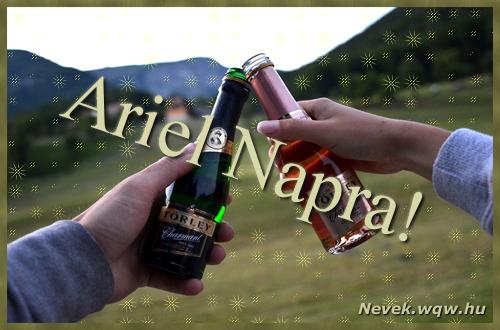 Ariel képeslap
