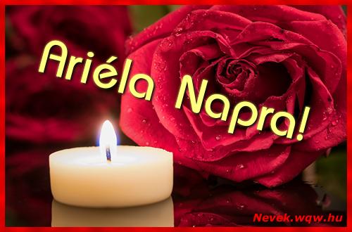 Ariéla képeslap