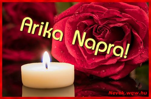 Arika képeslap