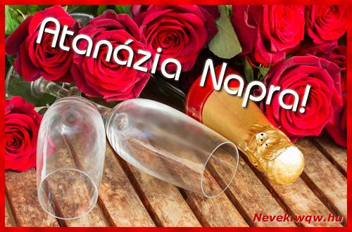 Atanázia üdvözlőlap