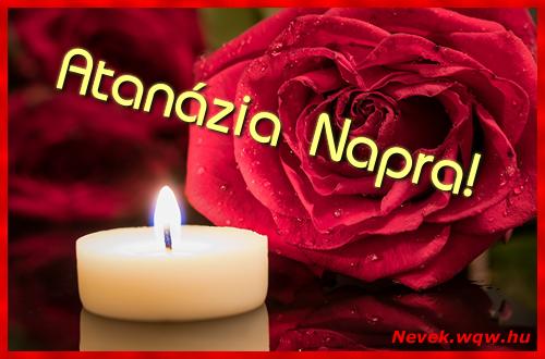 Atanázia képeslap