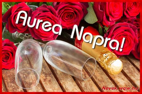 Aurea üdvözlőlap