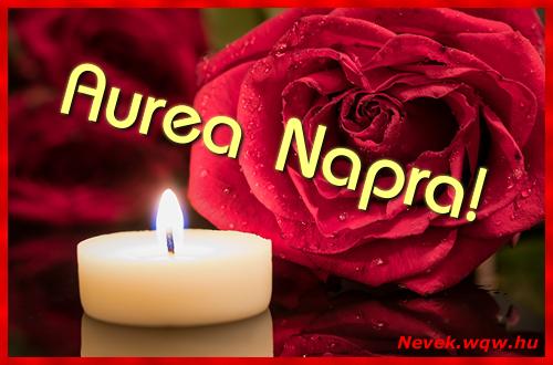 Aurea képeslap