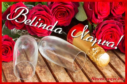 Belinda üdvözlőlap