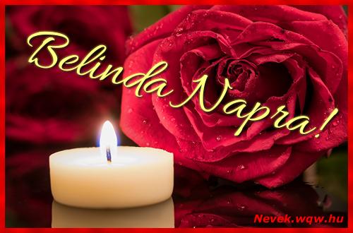 Belinda képeslap
