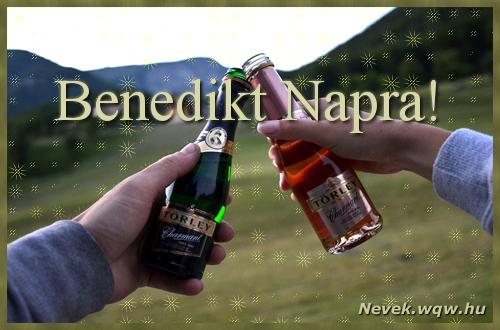 Benedikt képeslap