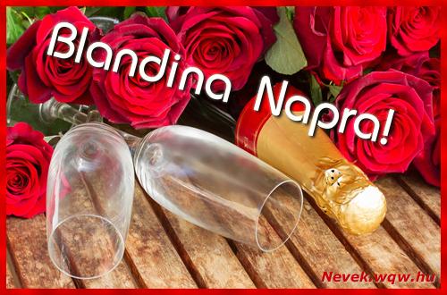 Blandina üdvözlőlap