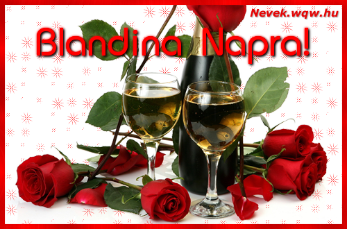 Blandina névnapi kép