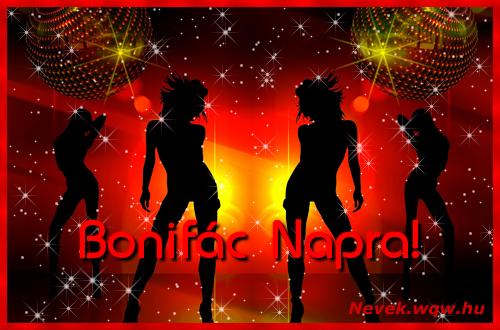 Bonifác névnapi képeslap