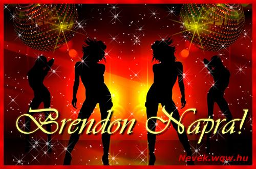 Brendon névnapi képeslap