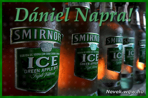 Dániel névnapi kép