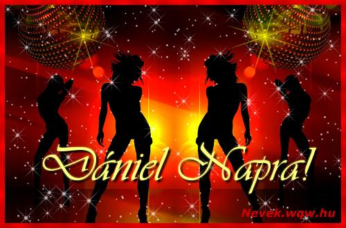 Dániel névnapi képeslap