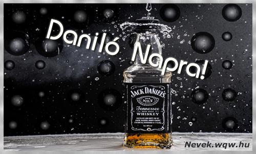 Daniló üdvözlőlap