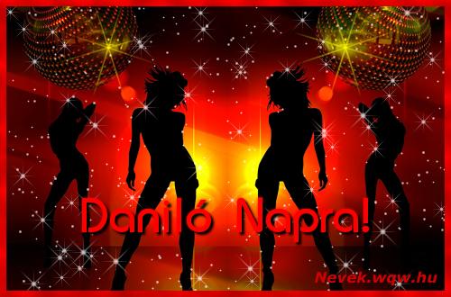 Daniló névnapi képeslap