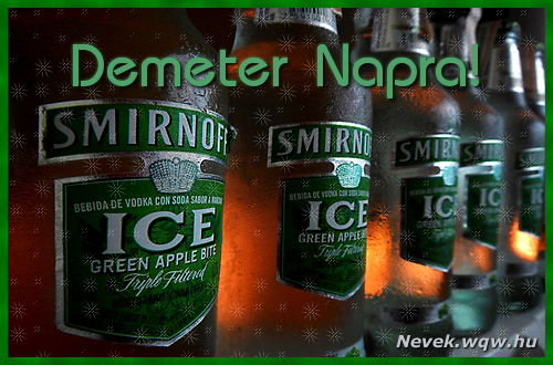 Demeter névnapi kép