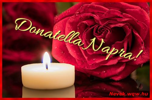 Donatella képeslap