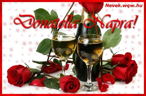 Donatella névnapi kép