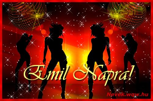 Emil névnapi képeslap