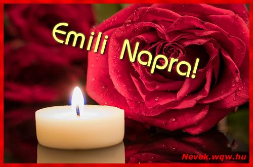 Emili képeslap