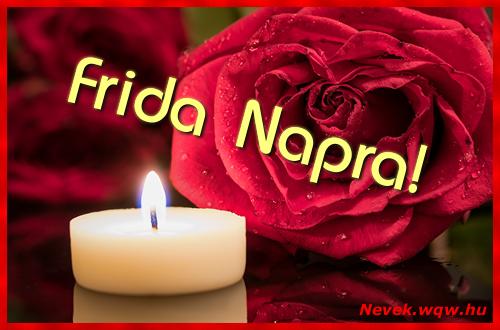 Frida képeslap