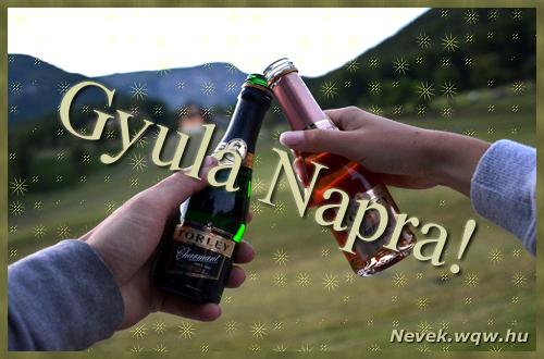 Gyula képeslap