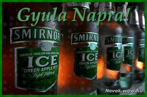 Gyula névnapi kép