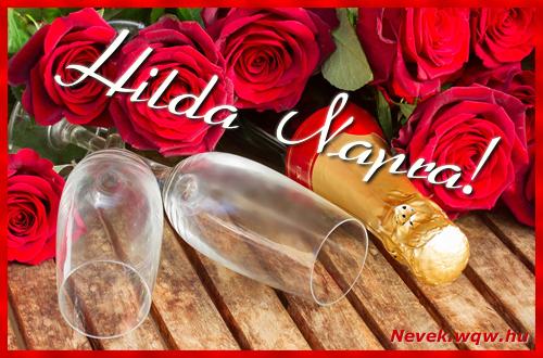 Hilda üdvözlőlap