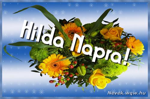 Hilda névnapi képeslap