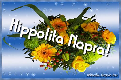 Hippolita névnapi képeslap
