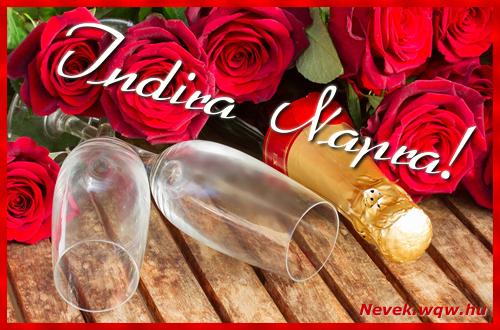 Indira üdvözlőlap