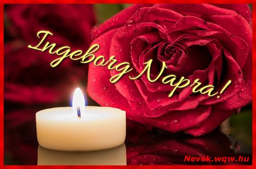 Ingeborg képeslap