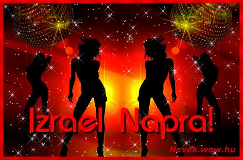 Izrael névnapi képeslap