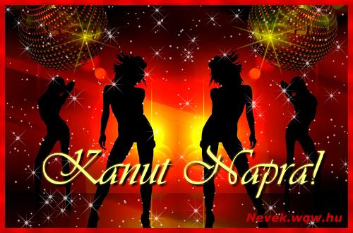 Kanut névnapi képeslap