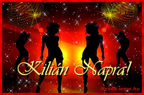 Kilián névnapi képeslap