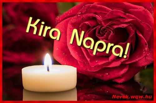 Kira képeslap