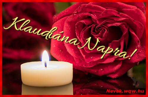 Klaudiána képeslap