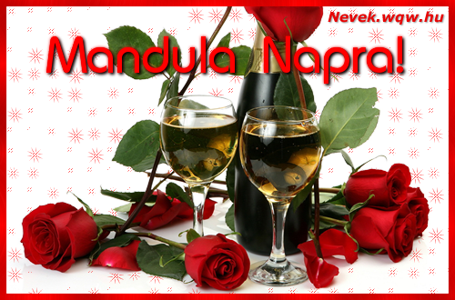 Mandula névnapi kép