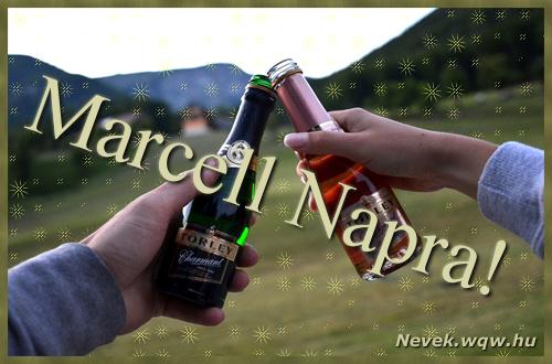 Marcell képeslap