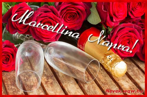 Marcellina üdvözlőlap