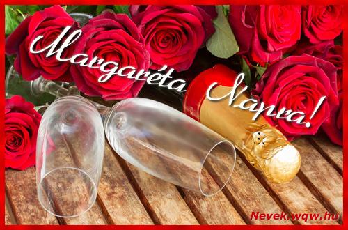 Margaréta üdvözlőlap