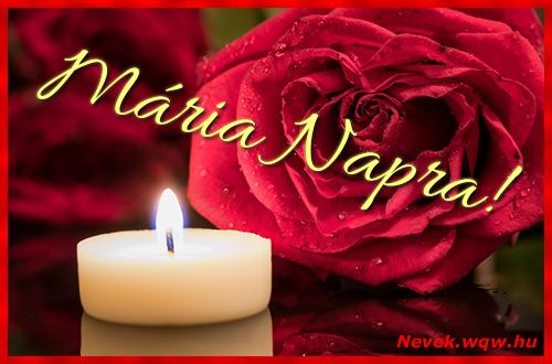 Mária képeslap