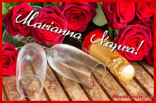 Marianna üdvözlőlap