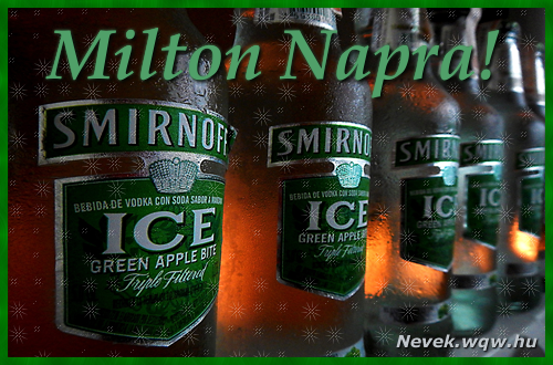 Milton névnapi kép